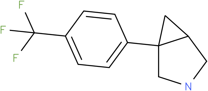 1-[4-(TRIFLUOROMETHYL)PHENYL]-3-AZABICYCLO[3.1.0]HEXANE