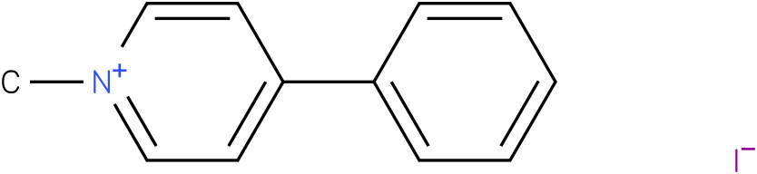 N-Methyl-4-phenylpyridiniumIodide