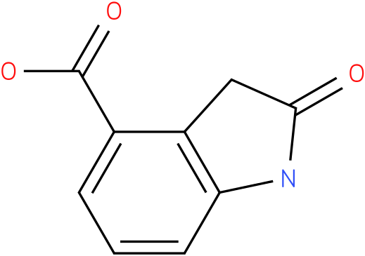 1H-Indole-4-carboxylic acid, 2,3-dihydro-2-oxo-