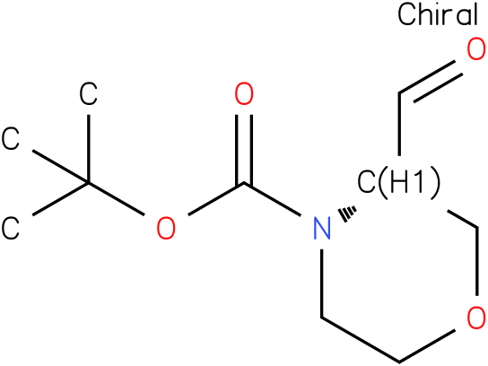 (S)-tert-butyl 3-formylmorpholine-4-carboxylate