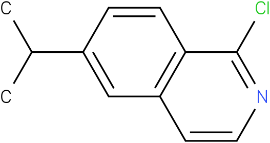 Isoquinoline, 1-chloro-6-(1-methylethyl)-