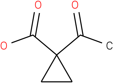 1-acetylcyclopropanecarboxylic acid