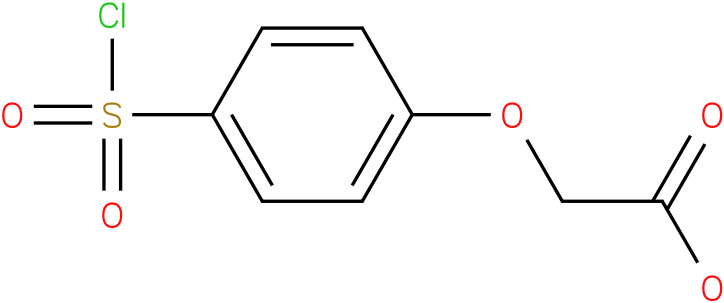 [4-(chlorosulfonyl)phenoxy]acetic acid