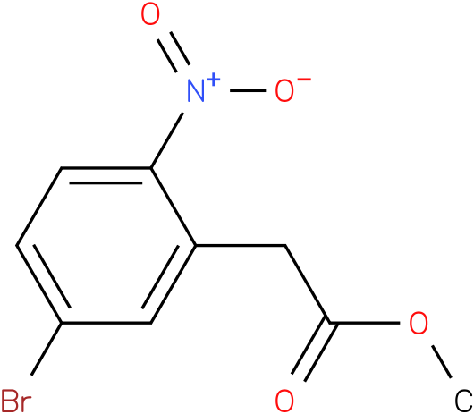 Methyl 2-(5-bromo-2-nitrophenyl)acetate