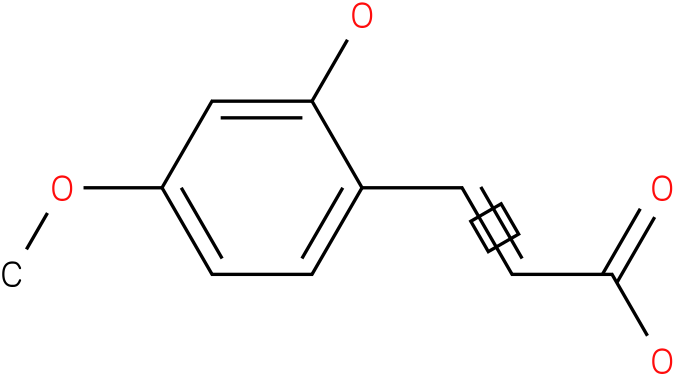 3-(2-HYDROXY-4-METHOXY-PHENYL)-ACRYLIC ACID