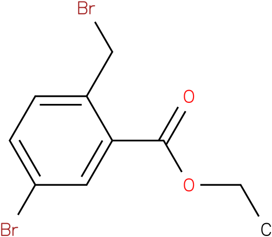 5-Bromo-2-bromomethyl-benzoic acid ethyl ester