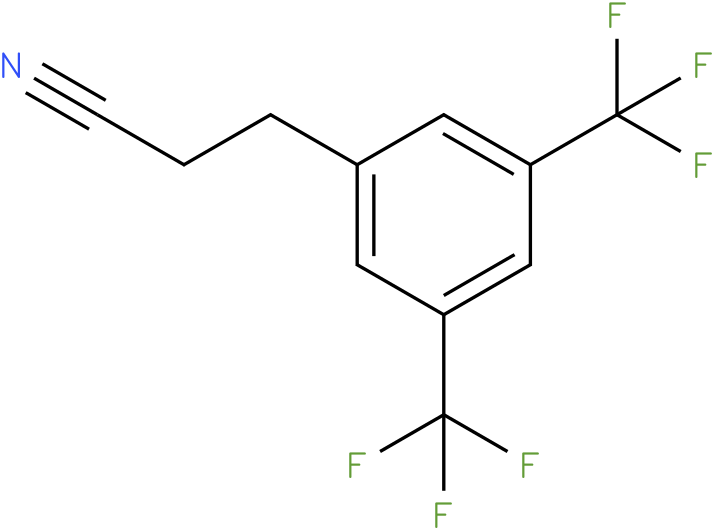 3-(3,5-bis-trifluoromethyl-phenyl)-propionitrile