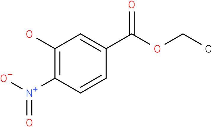3-Hydroxy-4-nitro-benzoic acid ethyl ester