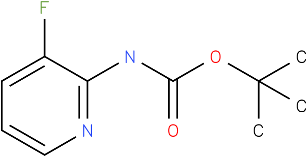 Carbamic acid,N-(3-fluoro-2-pyridinyl)-,1,1-dimethylethyl ester