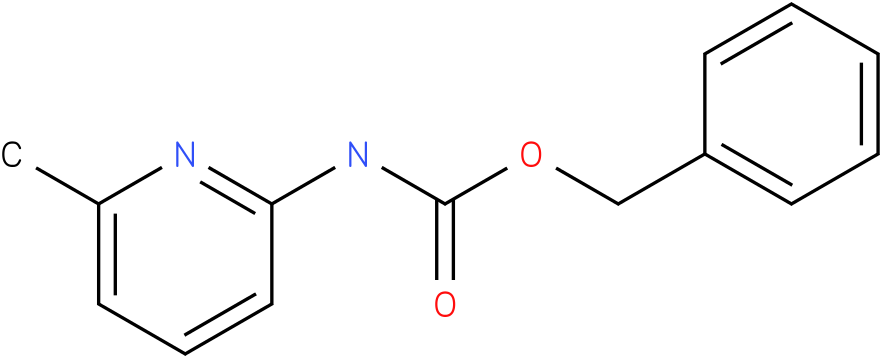 Carbamic acid,(6-methyl-2-pyridinyl)-,phenylmethyl ester