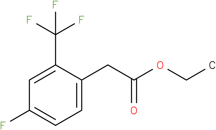 ethyl 2-(4-fluoro-2-(trifluoromethyl)phenyl)acetate