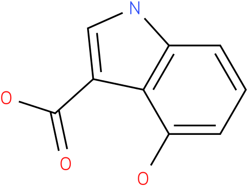 4-hydroxyindole-3-carboxylic acid