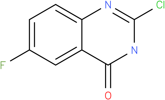 2-chloro-6-fluoroquinazolin-4(3H)-one