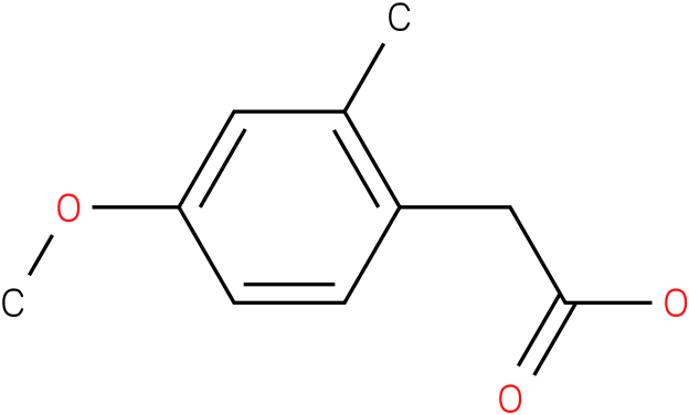 2-(4-methoxy-2-methylphenyl)acetic acid