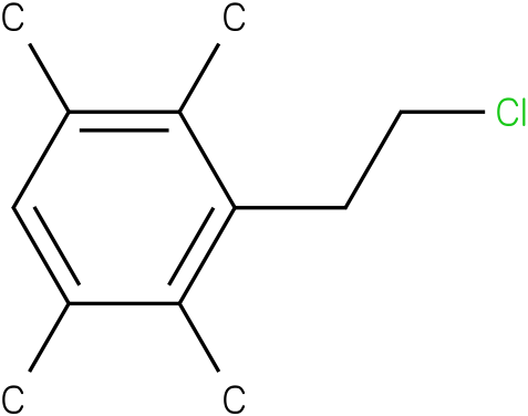 3-(2-chloroethyl)-1,2,4,5-tetramethylbenzene