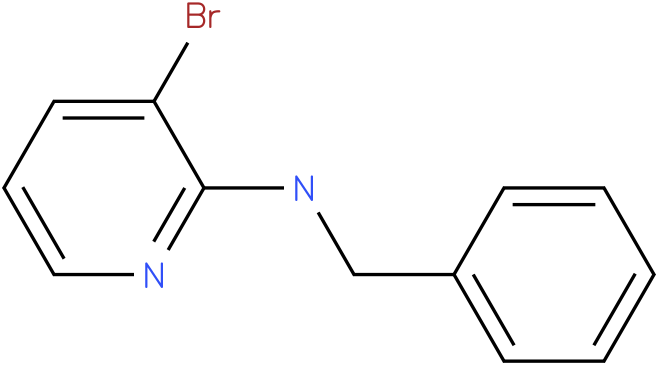 2-Pyridinamine,3-bromo-N-(phenylmethyl)-