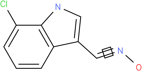 7-CHLORO-1H-INDOLE-3-CARBOXALDEHYDE OXIME
