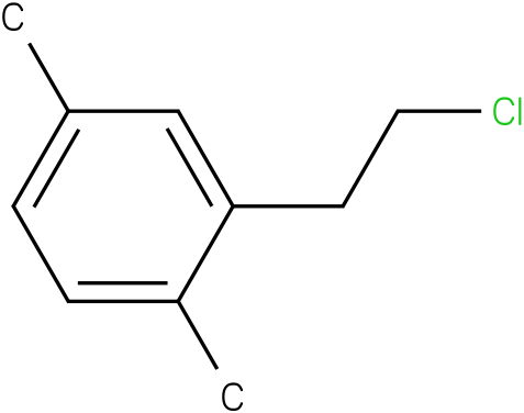 2-(2-chloroethyl)-1,4-dimethylbenzene