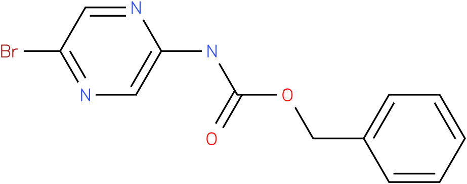 Carbamic acid,(5-bromopyrazinyl)-,phenylmethyl ester (9Cl)