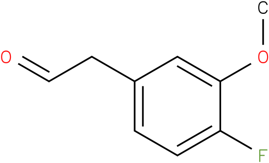 2-(4-fluoro-3-methoxyphenyl)acetaldehyde