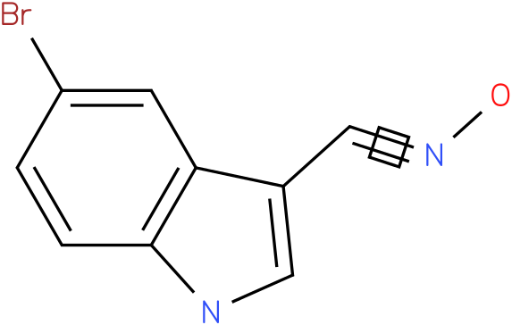 5-BROMO-1H-INDOLE-3-CARBOXALDEHYDE OXIME