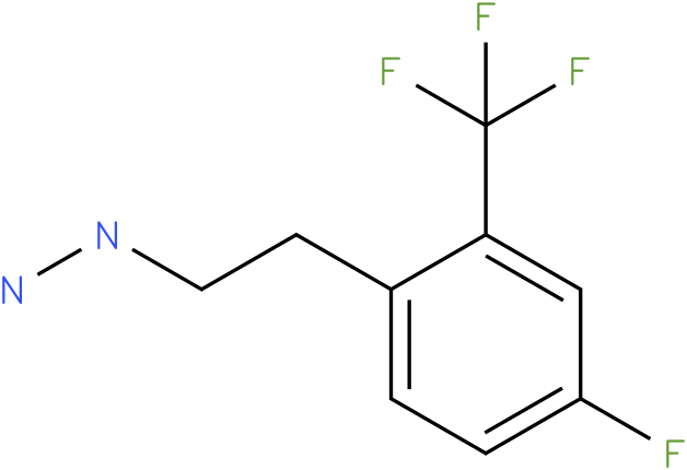 1-(4-fluoro-2-(trifluoromethyl)phenethyl)hydrazine