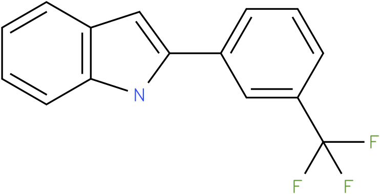 1H-Indole,2-[3-(trifluoromethyl)phenyl]-