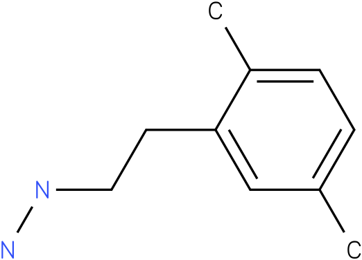 1-(2,5-dimethylphenethyl)hydrazine