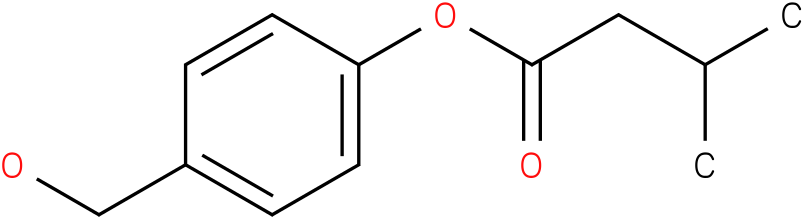 4-(Hydroxymethyl)phenyl 3-methylbutanoate