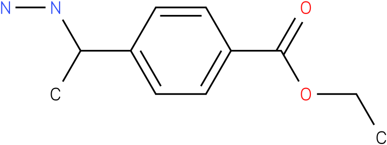 ETHYL 4-(1-HYDRAZINYLETHYL)BENZOATE