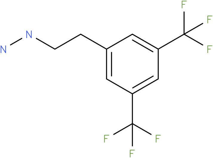 1-(3,5-bis(trifluoromethyl)phenethyl)hydrazine