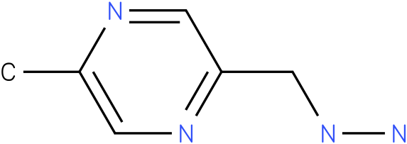 2-(hydrazinylmethyl)-5-methylpyrazine