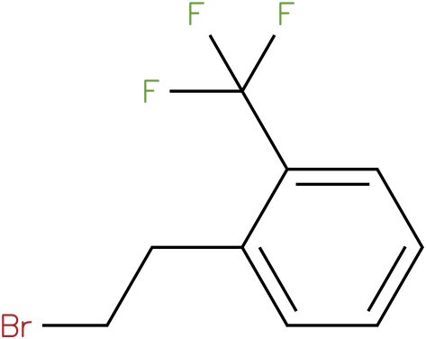 2-(trifluoromethyl)phenethyl bromide