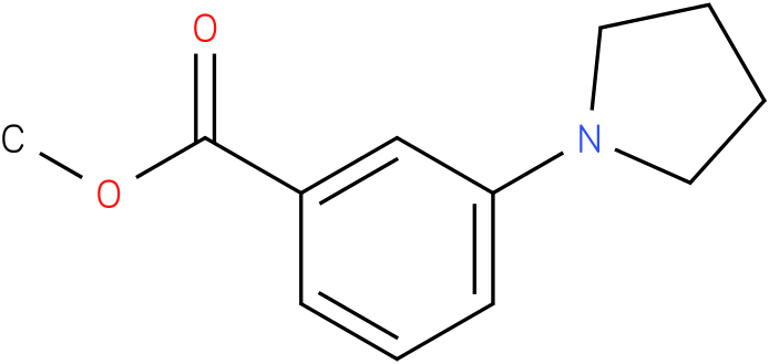 methyl 3-(pyrrolidin-1-yl)benzoate