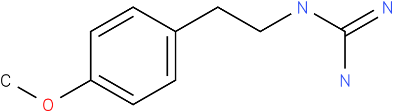 N-[2-(4-METHOXY-PHENYL)-ETHYL]-GUANIDINE