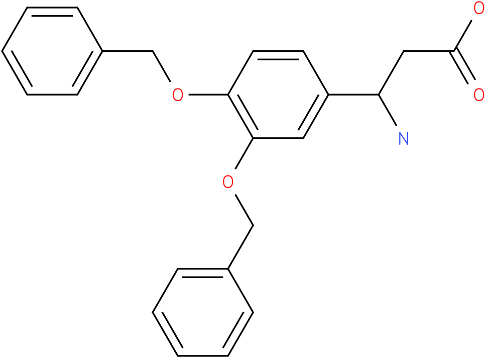 3-Amino-3-(3,4-dibenzyloxy-phenyl)-propionic acid