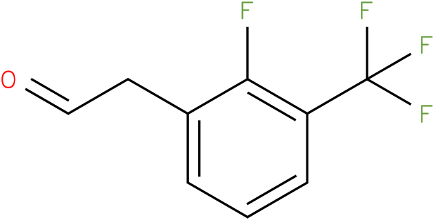 2-(2-fluoro-3-(trifluoromethyl)phenyl)acetaldehyde