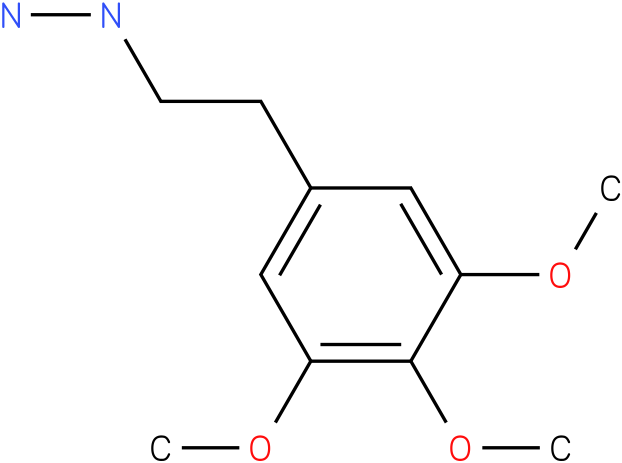 1-(3,4,5-trimethoxyphenethyl)hydrazine