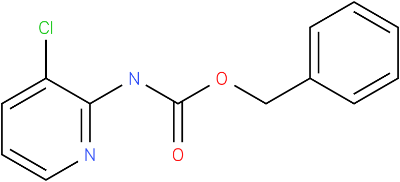 Carbamic acid,N-(3-chloro-2-pyridinyl)-,phenylmethyl ester