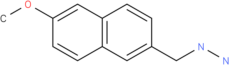 1-[(6-methoxynaphthalen-2-yl)methyl]hydrazine