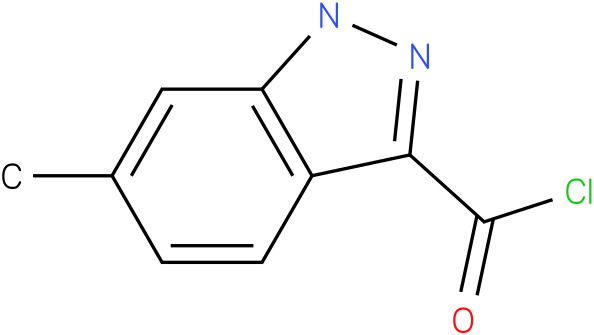6-METHYL-1H-INDAZOLE-3-CARBONYL CHLORIDE