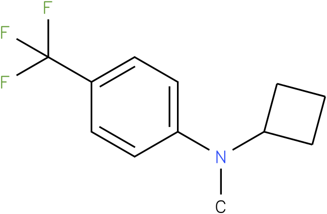 Cyclobutylmethyl-(4-trifluoromethyl-phenyl)-amine