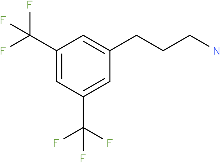3-(3,5-bis-trifluoromethyl-phenyl)-propylamine