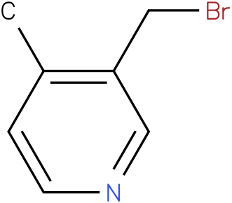 3-(bromomethyl)-4-methylpyridine
