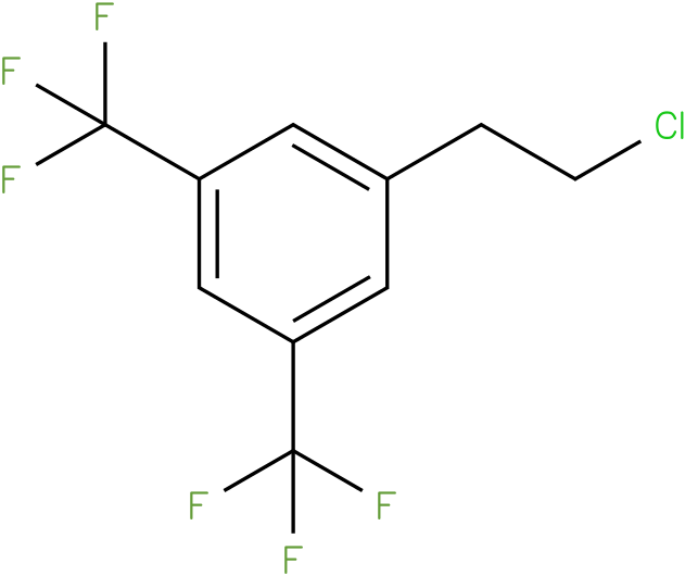 1-(2-chloroethyl)-3,5-bis(trifluoromethyl)benzene