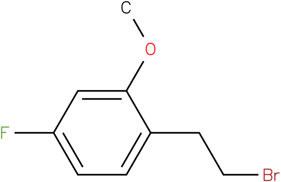 1-(2-bromoethyl)-4-fluoro-2-methoxybenzene