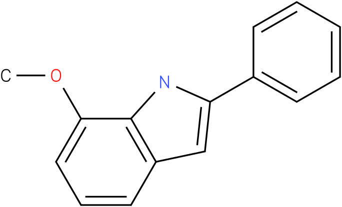 1H-indole,7-methoxy-2-phenyl-