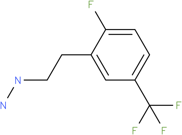 1-(2-fluoro-5-(trifluoromethyl)phenethyl)hydrazine