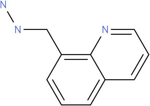 1-((quinolin-8-yl)methyl)hydrazine
