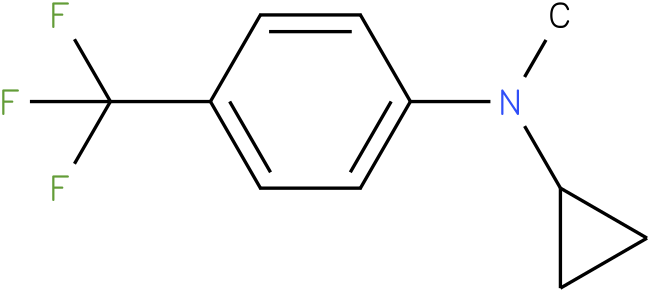 Cyclopropylmethyl-(4-trifluoromethyl-phenyl)-amine